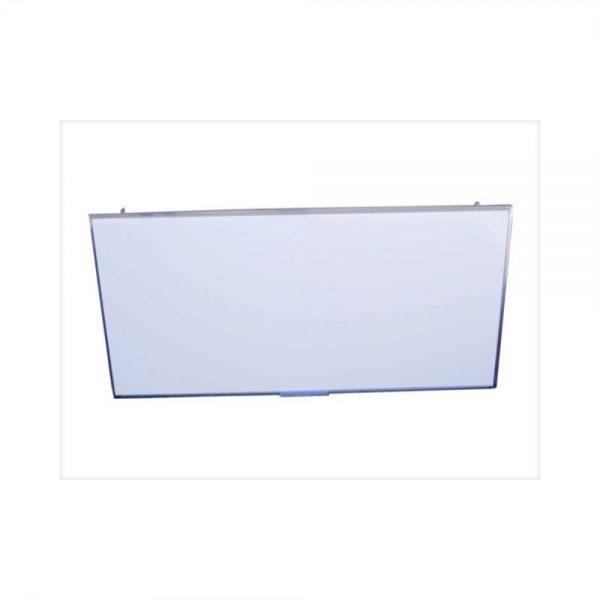 Quadro Escolar Branco com Moldura de Aluminio QESA