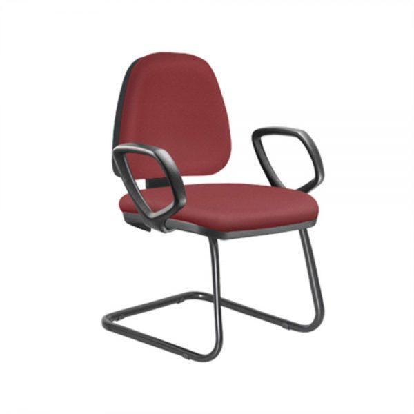 Cadeira SKY Fixa Baixa com braco AFF0907
