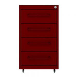 gaveteiro-premium-flex-4-gavetas-vermelho